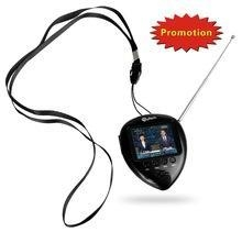 China 1.8 gift wholesale price led tv with FM radio, portable watch on sale