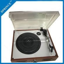 China TURNTABLE PLAYER WITHOUT RECORDING Wooden Retro Gramophone with belt-drive system on sale