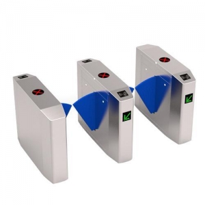 China Flap Barrier F305Z-High Quality Intelligent Retractable Flap Barrier For Access Control on sale