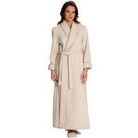 Bathrobes HOME 100% Polyester Women Fleece Bathrobes