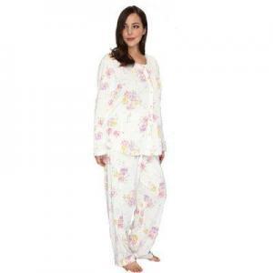 China Long Pajama Sets HOME Plus Size Women Cotton Pajama Set on sale