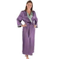 China WOMEN HOME Cheap Silk Robe for Women on sale