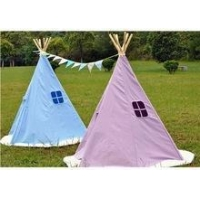 China wooden kids play tent TeePee on sale