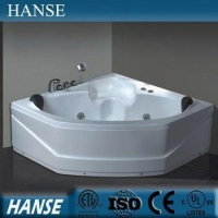 HS-B230 indoor 1.4m length led colored light corner bath tubs cheap