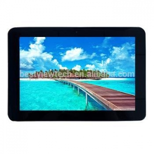 China Cheapeat 10.1 inch android4.4 HD1280X800 dual camera dual sim card android tablet quad core on sale