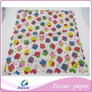 China custom logo printing colorful tissue paper Model No.: JY-1401 on sale