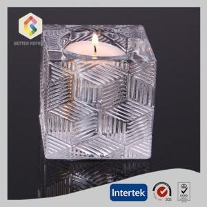 China Crystal Glass Candle Holder Votive/Tealight Holder on sale
