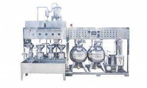 China ZDFJ-1000 automatic soybean milk and bean curd machine on sale