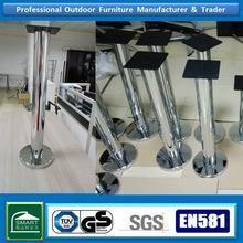 China bar furniture chrome metal table leg wholesale on sale