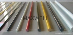 China FRP hollow tube and glassfiber solid rod Model No.FRP006 on sale