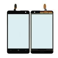 China Black Touch Glass Lens Screen Digitizer Panel Replacement For Nokia Lumia 625 on sale