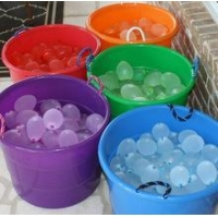 Factory Price 111pcs One Minute Water Bomb Balloons Strong Rubber Water Balloons