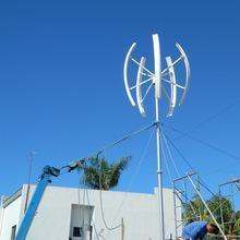China 2kw VAWT small wind turbine,vertical axis wind turbine on sale