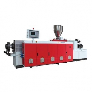 China Co-rotating Conical Twin-screw Extruder on sale