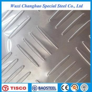 China 201 embossed stainless steel sheet on sale
