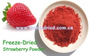 China Freeze Dried Fruit Freeze Dried Strawberry Slice on sale