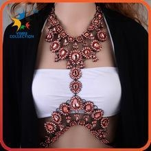 China Yiwu Collection sex body chain body statment jewelry on sale