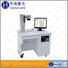 China Hot sale fiber optical laser marking machine for Jewelry/watch/led/automobile/ic/iphone/pc Keyboards on sale