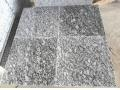 China New water wave granite decorative stone gate pillars covering tile design on sale