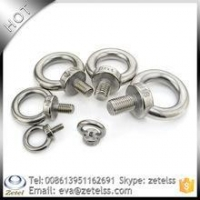 China Fastener Stainless steel eye bolt with competive price on sale