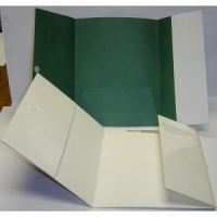 China Paper Folders Carter Printing Tri-Fold Pocket Folder on sale