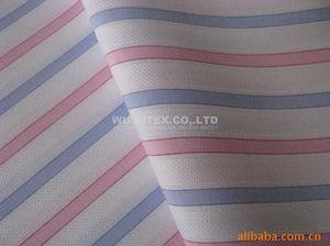 China Stable quality Mini Dobby Cotton Yarn Dyed Fabric, Plain Weave Stripe For Fashion Clothes on sale