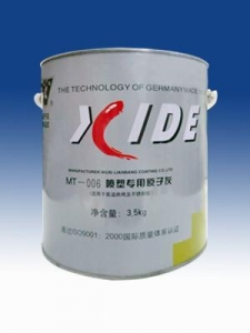 China MT-006 electrostatic spraying special poly putty on sale