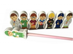 China Pencil Topper Erasers ModelTE11 on sale