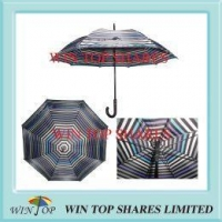 Special umbrella Stripe Diagram and Drawing Patent Automatic Umbrella