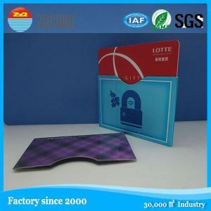 China Card sleeve ID credit visa card protector RFID blocking sleeve on sale