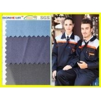 China Anti-static poly cotton fabric for gas station workwear on sale
