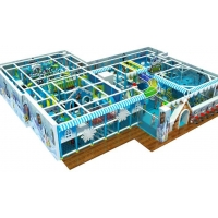 China Theme of Indoor Playground Indoor Jungle Gym Model:Frozen series on sale