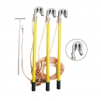 China 11Ground set/earth rod equipment high voltage earth rod with wire and earth pin on sale