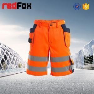China HVT112 High Visibility Orange Work Shorts on sale