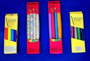 China Stationery and Back to School items Self adhesive book cover rolls in Window Color Box on sale