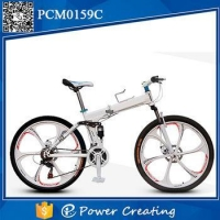 China New Carbon Steel Material for alloy wheel 26inch folding bike on sale