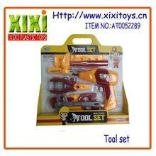 China Tool Toys Emulation design Kids real pretend play construction toy home tool set on sale