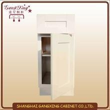 China American white shaker cabinets v-groove on sale