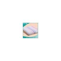 China Bathroom waffle fabric blanket cotton waffle weave bath towel on sale
