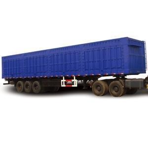 China High Quality 3 Axle Van Dry Cargo Semi Trailer on sale