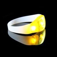 China Motion Sensor Fluorescent Lights Bracelets on sale