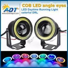 China 2.5 Blue COB LED Halo Angel Eye Rings Car led fog light on sale