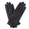 China Women Genuine Leather Gloves Women Winter Fashion Leather Gloves GY381 for sale