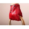 China Women Fashion Genuine Red Leather Gloves GY184 Women Fashion Genuine Red Leather Gloves GY184 for sale
