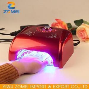 China Wholesale CCFL nail polish and dryer uv gel nail lamp machine on sale