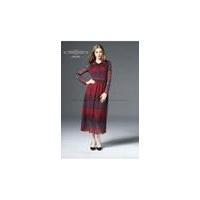 vintage floral lace and mesh famous brand dress super star elegant long skirt