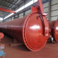 Fly ash brick curing autoclave