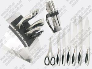 China Jarich JYKS-A310 8pcs kitchen knife set/knife block set on sale