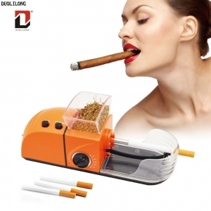 China Duolilong Mini Electric Cigarette Rolling Machine C-84 on sale