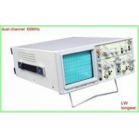 China 60MHz with dual channel analog oscilloscope on sale